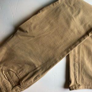 Chaps tan pants like new